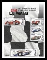 Belgium 2019 Mih. 4930/34 (Bl.244) Belgian Winners Of 24 Hours Of Le Mans Car Race MNH ** - Neufs