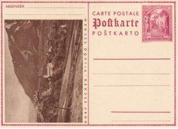 LIECHTENSTEIN   ENTIER POSTAL/GANZSACHE/POSTAL STATIONERY  CARTE ILLUSTREE - Enteros Postales