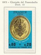 PIA - FRANCIA - 1975 : Giornata Del Francobollo  - (Yv 1838) - Giornata Del Francobollo