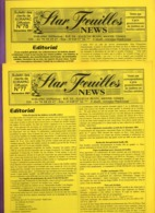 DT239C BULLETIN STAR FEUILLES NEWS  N°77 ET 78 TIMBRES FEUILLES 2001 - Riviste: Abbonamenti