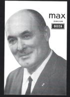 MAX (Maximiano De Sousa) Cantor Da MADEIRA. Postal Publicitario VALENTIM CARVALHO - Photos