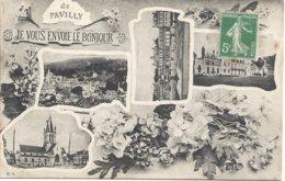 76 Pavilly Je Vous Envoie Le Bonjour - Pavilly