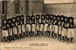 CPA La Jeune Garde - COURS - 1913 - Danse Du Pen-Bas (Ballet Breton) (451176) - Cours-la-Ville