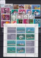 Schweiz 1978, Jahrgang Komplett (B.2550) - Switzerland