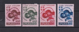 Serbien - 1941 - Michel Nr. 54/57 - Ungebr. - Occupation 1938-45