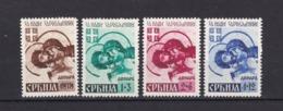 Serbien - 1942 - Michel Nr. 62/65 - Ungebr. - Bezetting 1938-45