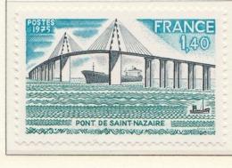 PIA - FRANCIA - 1975 : Ponte Di Saint Nazaire  - (Yv 1856) - Ponti