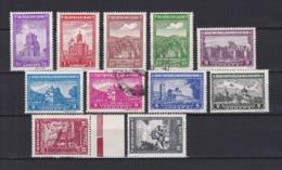 Serbien - 1942/43 - Michel Nr. 71/81 - Ungebr./Gest. - Occupation 1938-45