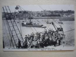 GUERNSEY  SAINT PETER PORT / SAINT PIERRE PORT  Departure Of Salvation  Army Band /départ Armée Du Salut - Guernsey