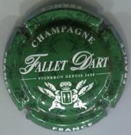 CAPSULE-CHAMPAGNE FALLET-D'ART N°19 Vert & Blanc - Champagne