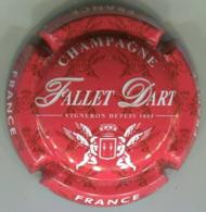 CAPSULE-CHAMPAGNE FALLET-D'ART N°19c Rouge & Blanc - Altri