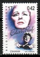 Belgium 1999 Bélgica / Music Edith Piaf Singer MNH Musik Musica Cantante Edith Piaf / Kk15  31-16 - Música