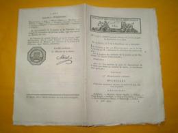 Lois An X:Justices De Paix De La Dyle,Nivelles,Louvain,Bruxelles... & Pyrénées Atlantiques,Oloron,Mauléon,Orthez,Bayonne - Décrets & Lois