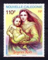 Nouvelle-Calédonie 0991 Noël , Vierge à L'enfant - Madonna