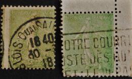 SEMEUSE LIGNEE N° 130  O - 1903-60 Säerin, Untergrund Schraffiert