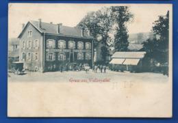 Gruss Aus  VALLERYSTALL    Restaurant Kaffee  Schneider     Animées  écrite En 1902 - Autres Communes