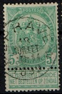 56  Obl Relais  Eprave +15 - 1893-1907 Coat Of Arms