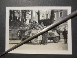 Nantes - St Nazaire  - Photo Originale - Les Troupes Américaines En Direction De - La Poche - B.E - - War, Military