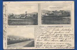 Gruss Aus   ERKARTSWEILLER  Bei Lützelstein      écrite En 1904 - Frankreich