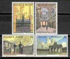Belgium 1996 Bélgica / Brussels Architecture MNH Arquitectura De Bruselas / Kc29  32-8 - Castillos