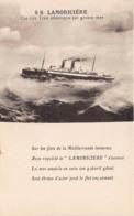 Paquebot - S S LAMORICIERE - Compagnie Générale Transatlantique Par Grosse Mer - Paquebots