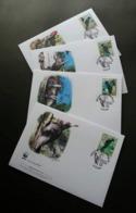 Serbia WWF Woodpecker 2007 Bird (stamp FDC) - Serbien