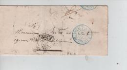 PR7534/ Précurseur LAC Paris Taxation 15 C Dist De 9h > Recherche Du Destinataire C.d'arrivées - 1801-1848: Precursores XIX