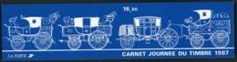 """BC 2469 A NEUF TB / 1987 Journée Du Timbre """"Berline"""" / Valeur Timbres : 13.2F Soit 2€ - Booklets"""