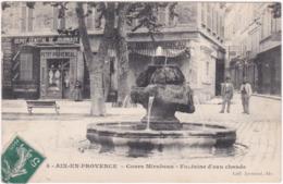 13. AIX-EN-PROVENCE. Cours Mirabeau. Fontaine D'eau Chaude. 4 - Aix En Provence