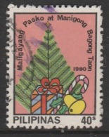 Philippines 1980 Christmas 40 S SW 1395  Multicoloured O Used - Philippines