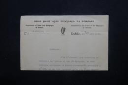 IRLANDE - Document De La Poste Irlandaise Pour Justification De Transport Aérien En 1939 (Southampton /Foynes) - L 45152 - 1937-1949 Éire