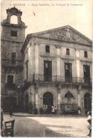 FR34 PEZENAS - Trinquer 4 - Place Gambetta - Tribunal De Commerce - Animée - Belle - Pezenas
