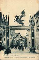 CPA BELLEME - Fete De Jeanne D'Arc - Rue St-MICHEL (355856) - Autres Communes