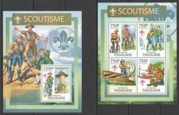 TG718 2013 TOGO TOGOLAISE SCOUTING BOY SCOUTS ROBERT BADEN-POWELL SCOUTISME KB+BL MNH - Scoutisme