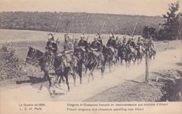CPA - MILITAIRE - Militaria - Dragons Et Chasseurs Français En Reconnaissance... - Manöver