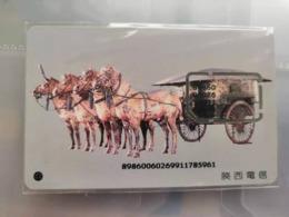 China,Shanxi GSM SIM Card,used - Cina