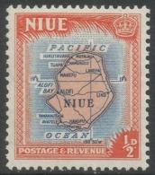 Niue. 1950 Definitives. ½d MNH. SG 113 - Niue