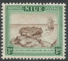 Niue. 1950 Definitives. 1d MNH. SG 114 - Niue
