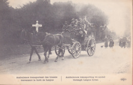 CPA - MILITAIRE - Militaria - Ambulance Transpotant Des Blessés... - Militaria