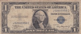 BILLETE DE ESTADOS UNIDOS DE 1 DOLLAR DEL AÑO 1935 A LETRA J-C WASHINGTON  (BANK NOTE) - Bilglietti Della Riserva Federale (1928-...)