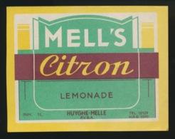 MELLE - ETIKET MELL'S CITRON LEMONADE - Etiquettes