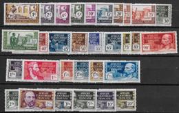 A.E.F. N° 33 à 62** - A.E.F. (1936-1958)