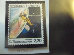 """1980-89  T. Oblitéré N°  2508     """" Série Communication  2.20 ,   Gillon       """"  --  Net     0.50 - Usados"""