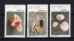 CHYPRE TURC Turkish Cyprus  1994 Coquillages Shells Yv 356/358 MNH ** - Cyprus (Turkey)