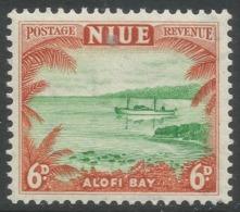 Niue. 1950 Definitives. 6d MNH. SG 118 - Niue