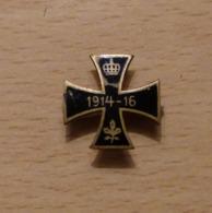 Petite Croix De Fer Ww1 1914-1916 épinglette Manquante - 1914-18