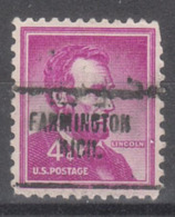 USA Precancel Vorausentwertung Preo, Locals Michigan, Farmington 704 - United States