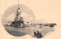 Bateau De Guerre - Le MASSENA Dans Le Trieux - Warships