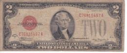 BILLETE DE ESTADOS UNIDOS DE 2 DOLLARS DEL AÑO 1928 D  (BANK NOTE) - Billetes De La Reserva Federal (1928-...)