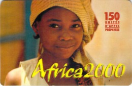 Carte Prépayée - AFRICA 2000 -    7.5 € - Frankrijk
